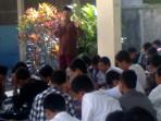 pengajian Maulid Nabi Muhammad SAW di SMP N 4 Ngaglik